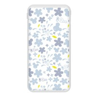 Qee Flower Print 2020 8000/10000mAh Power Bank with Lightning and Type-C Ports