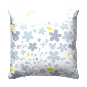 "Qee Flower Print 2020 Throw Pillow 16"" x 16"""