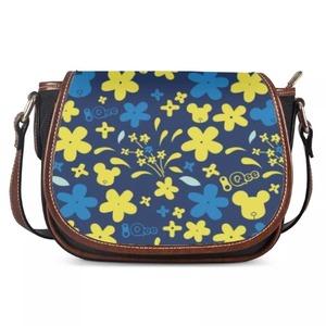 Qee Flower Print 2020 Saddle Bags