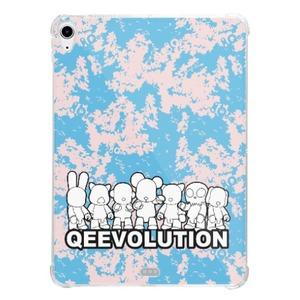 Qeevolution 2021 iPad Air 10.9 inch(2020) Clear Bumper Case