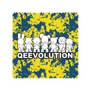"Qeevolution 2021 Tablecloth 35"" x 35"""