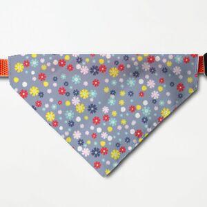 Daisy三角寵物頭圍巾 (大)