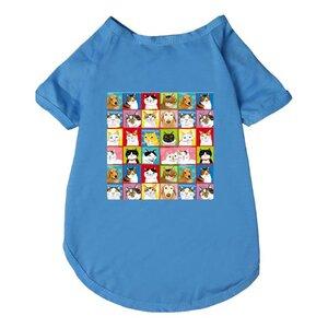 百貓圖寵物襯衫
