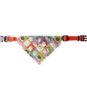 百貓圖三角寵物頭圍巾 (大)B