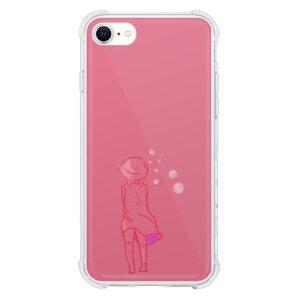 在你心中的少女iPhone SE 透明防撞殼(2020 TPU軟款)
