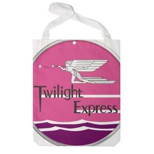 Twilight Express 特大帆布單肩袋