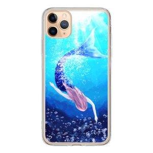 mermaid  iPhone 11 Pro Max 透明壳