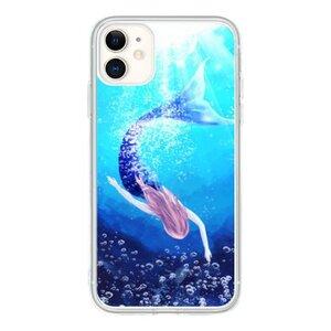 mermaid iPhone 11 透明壳