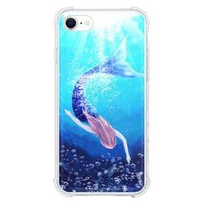 mermaidiPhone SE 透明壳(2020 TPU软款)