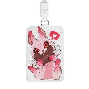 食肉兔 證件套連頸繩