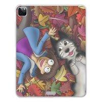 我們在秋季中的歡笑與喜悅iPad Pro 12.9吋(2020)透明保護套