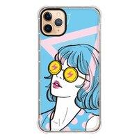 X06 / 女人太陽眼鏡 /iPhone 11 Pro Max 透明防撞殼(黑邊鏡頭)