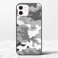 壹定有你(迷彩黑) - iPhone 12 mini 鋼化玻璃殼