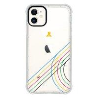團傑iPhone 11 透明防撞殼(黑邊鏡頭)