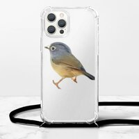 iPhone 12 Pro Max 挂绳透明软壳