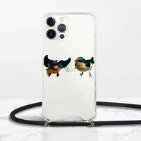 iPhone 12 Pro 挂绳透明硬壳