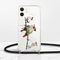 iPhone 12 挂绳透明硬壳