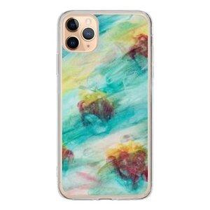 神秘的花  iPhone 11 Pro Max 透明殼