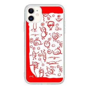 《小可愛》紅色控 iPhone 11 透明殼