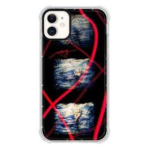 《溺水》iPhone 11 透明防撞殼(黑邊鏡頭)
