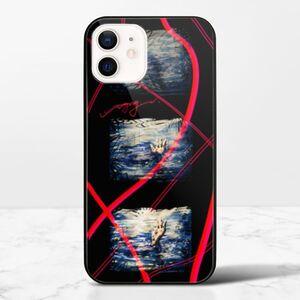 《溺水》iPhone 12 mini 鋼化玻璃殼