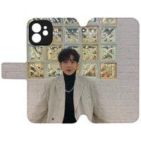 Anson LoiPhone 12 mini 皮紋翻盖殼