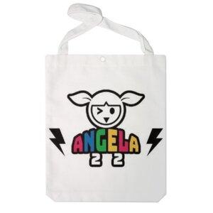 ANGELA Classic 特大帆布單肩袋
