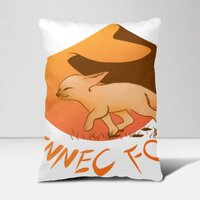 FENNEC FOX16 x 24吋長形抱枕