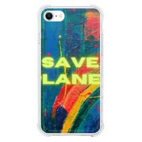 SAVE THE PLANET iPhone SE Clear Case(2020 TPU soft case)