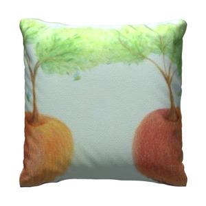 果樹 16x16吋細毛絨抱枕