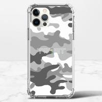 壹定有你(迷彩白) - iPhone 12 Pro 透明防撞殼(TPU軟款)