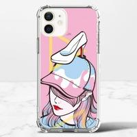 X06 / 女人 /iPhone 12 mini 透明防撞殼(TPU軟款)