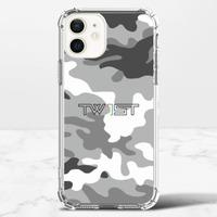 壹定有你(迷彩白) - iPhone 12 mini 透明防撞殼(TPU軟款)