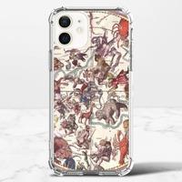 復古星座圖iPhone 12 mini 透明防撞殼(TPU軟款)