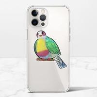 黃胸果鳩iPhone 12 Pro Max 透明殼(TPU軟款)