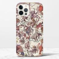 復古星座圖iPhone 12 Pro Max 光面硬身殼