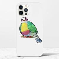 黃胸果鳩iPhone 12 Pro Max 光面硬身殼