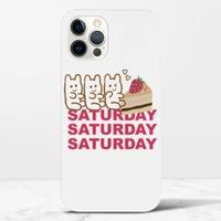 Saturday BeariPhone 12 Max Pro 光面硬身殼
