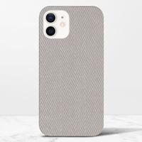 herringbone iPhone 12 光面硬身殼