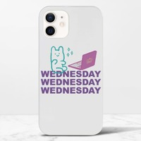 Wednesday BeariPhone 12 光面硬身殼