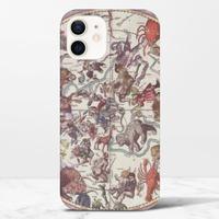 復古星座圖iPhone 12 光面硬身殼