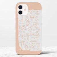 《小可愛》iPhone 12 光面硬身殼