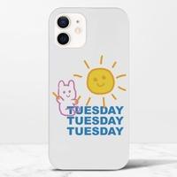 Tuesday BeariPhone 12 光面硬身殼