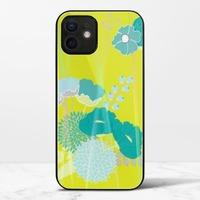 嫩綠春華iPhone 12 極光鋼化玻璃殼