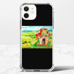 毛蟲奇幻冒險 啃書蟲  iPhone 12 透明防撞殼(TPU軟款)