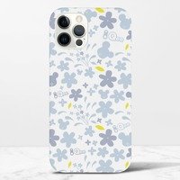 Qee Flower Print 2020 iPhone 12 Pro Max Glossy Case