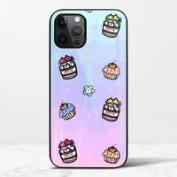 渣男熊甜點iPhone 12 Pro Max 極光鋼化玻璃殼