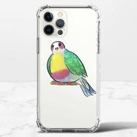 黃胸果鳩iPhone 12 Pro Max 透明防撞殼(TPU軟款)
