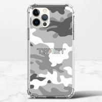 壹定有你(迷彩黑) - iPhone 12 Pro Max 透明防撞殼(TPU軟款)