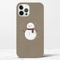 Christmas snowmaniPhone 12 Pro 光面硬身殼